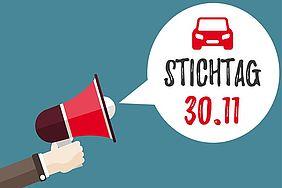 Megaphon verkündet Stichtag für den Wechsel der Autoversichung: 30.11.