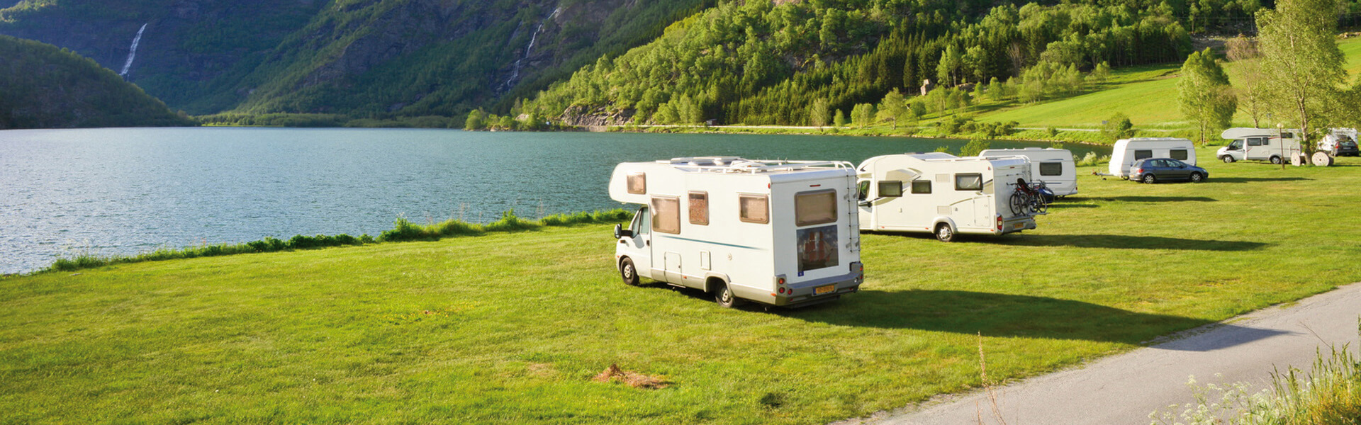Wohnmobil Camping am See